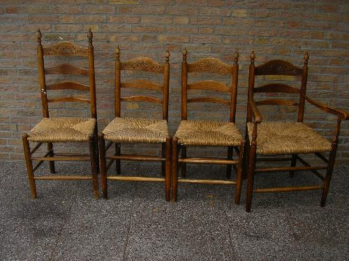 4-Vintage-Wooden-Hall-Side-Chairs-Wicker-Seats-Please-20140425033517