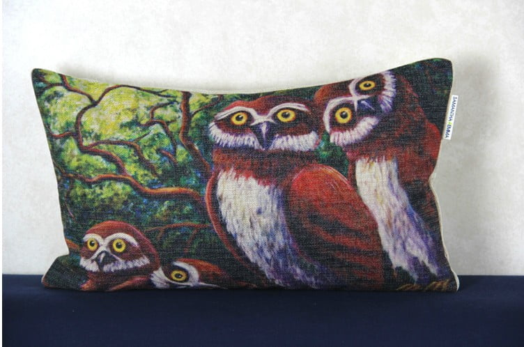 Free-shipping-American-country-style-font-b-Owl-b-font-Cushion-Home-Decor-30cm-50cm-Cushion