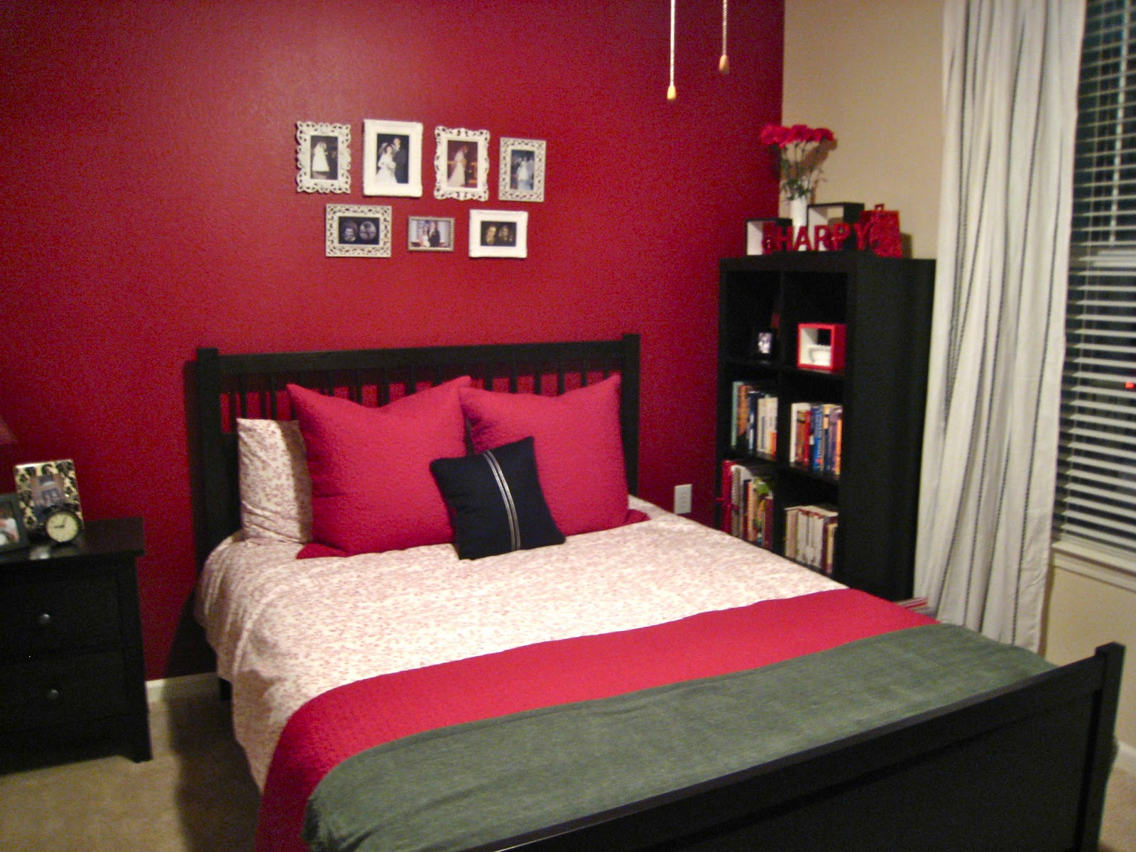 bedroom-interior-engaging-cool-bedroom-ideas-with-red-matte-painted-wall-combination-with-light-pink-painted-wall-astounding-cool-bedroom-wall-design-ideas-for-your-elegant-home-l