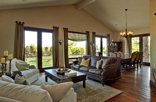 country interior design living room 2