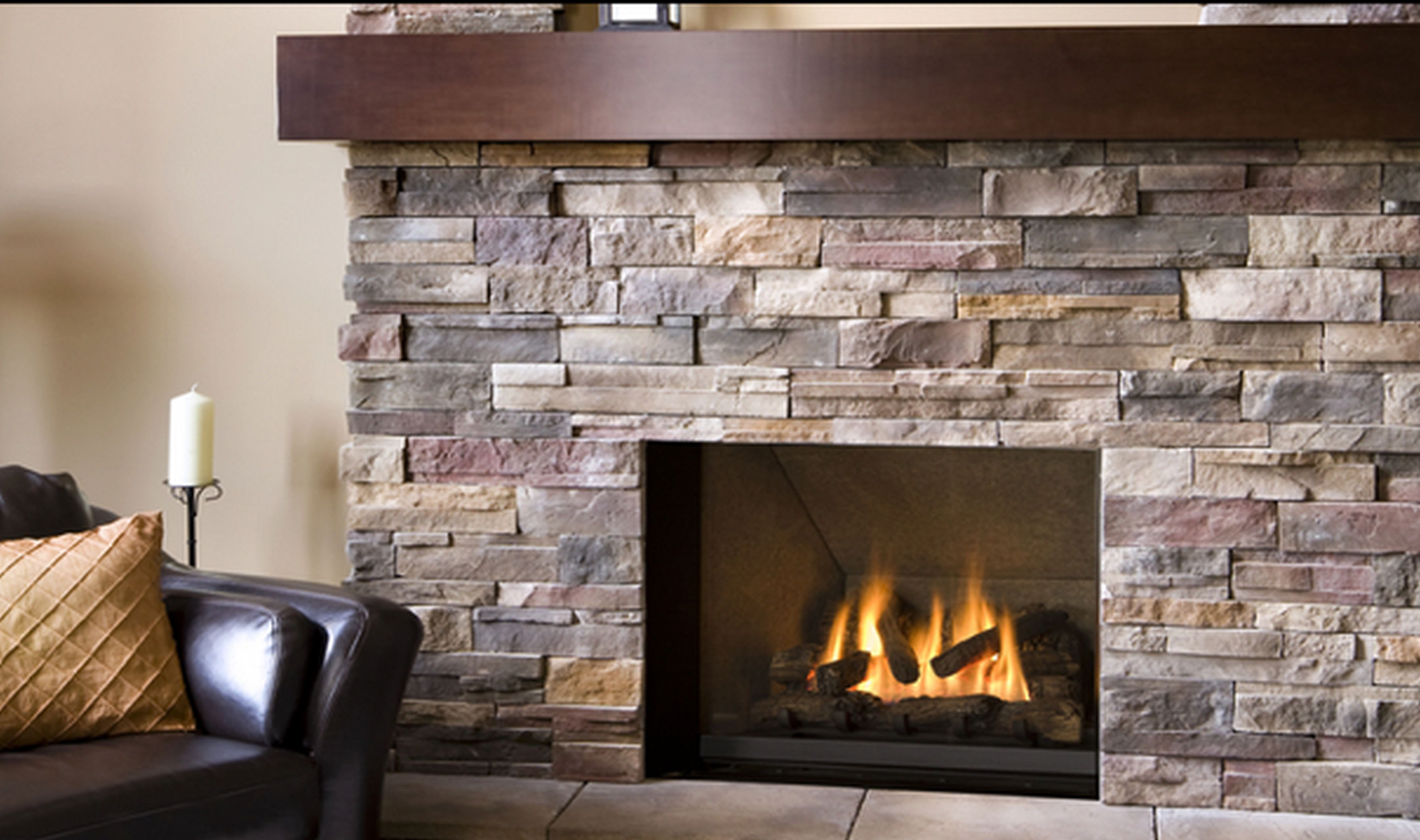 architecture-fireplace-stone-with-wooden-mantle-shelf-also-tile-floor-also-black-sofa-in-modern-home-living-room-with-infomal-style-of-design-ideas-beautiful-stone-fireplace-in-modern-cont