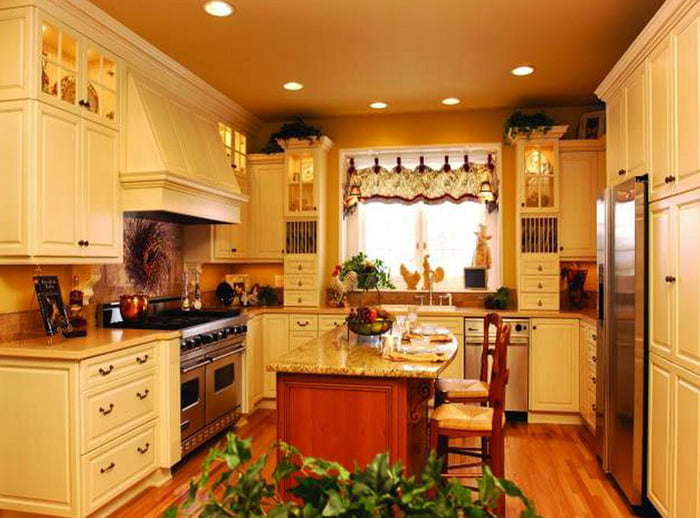 French-Country-Kitchen-Furniture-Set-Decorating-Ideas