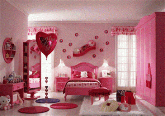Decorating-a-pink-bedroom-for-an-adult-design
