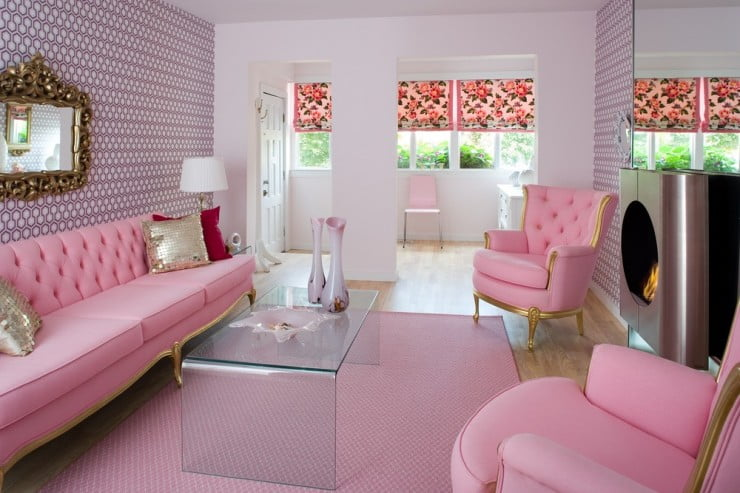 cool-pink-sofa-set-for-living-room