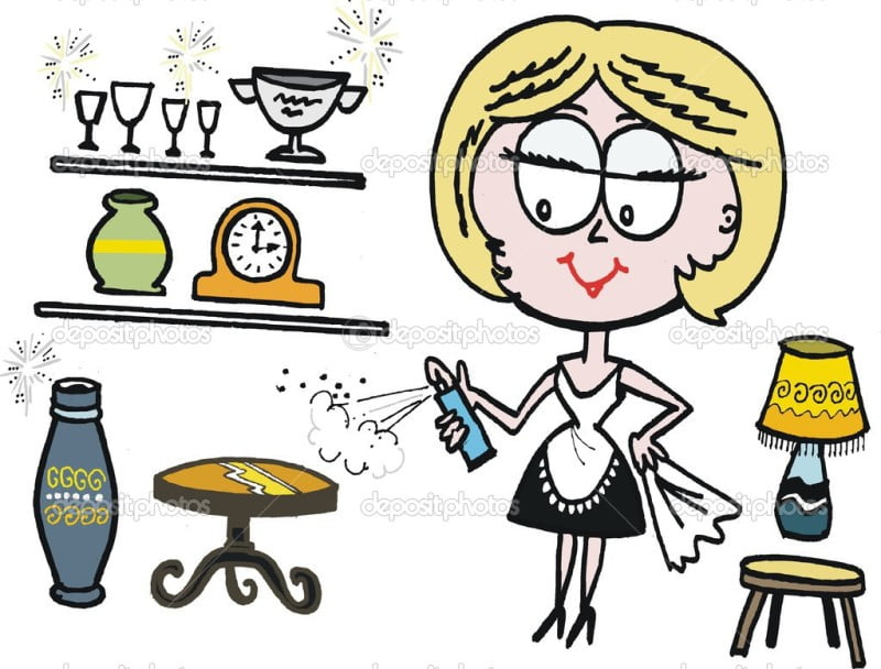 depositphotos_25958725-Vector-cartoon-of-woman-cleaning-and-polishing-furniture