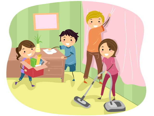 helping-cleaning-working