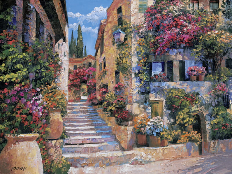 Italian-Stairs-by-Howard-Behrens-26293