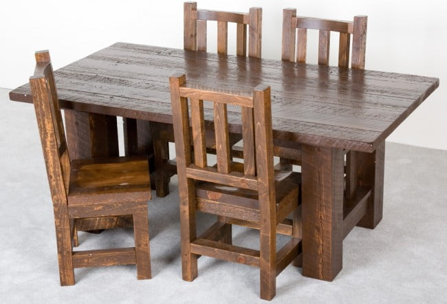 Viking-Log-Furniture-Barnwood-Dining-Table-Dining-Table_0_0