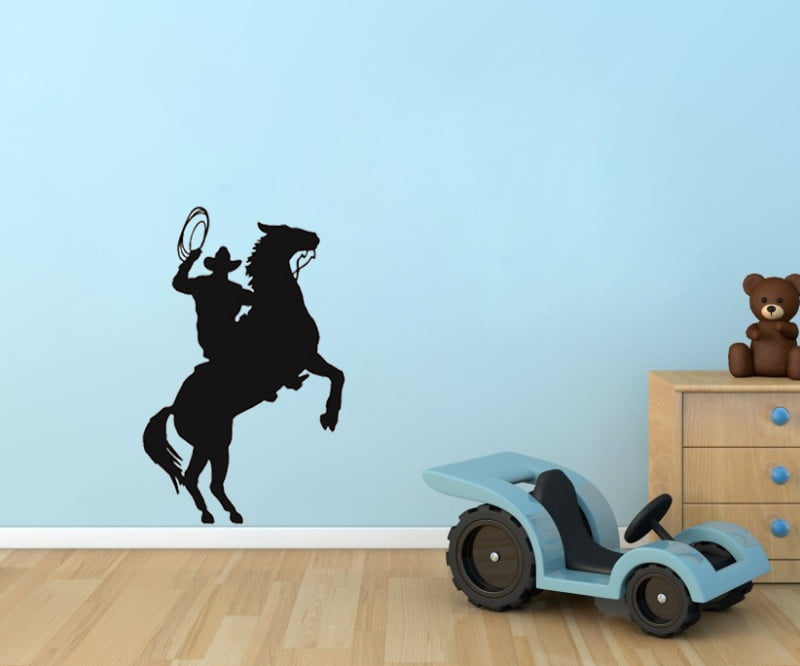 -font-b-Cowboy-b-font-Roper-Horse-Western-Kids-Room-Wall-Decal-Art-34-Say