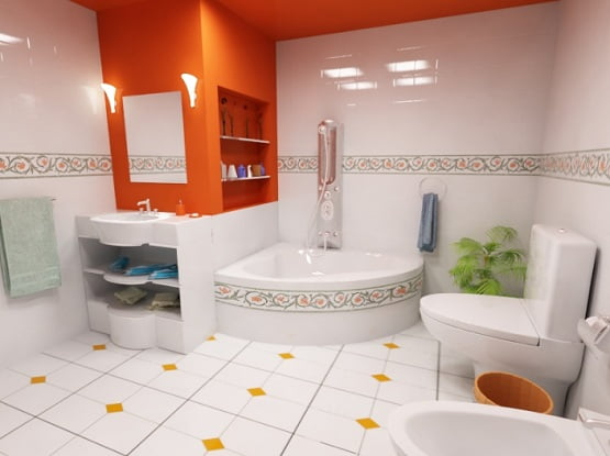 bathroom-tile-floors-White-Floor-Tile