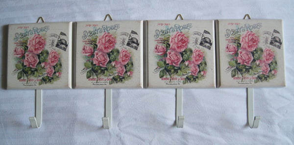vintage-Metal-Wall-rack-hooks-flower-design-hanger-Wall-font-b-key-b-font-font-b