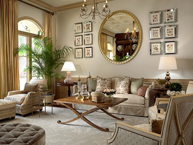 Classic-Living-Room-Decoration-Pictures