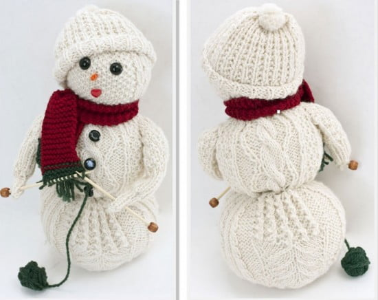 knitted-snowman-free-patterns-for-christmas-550x436