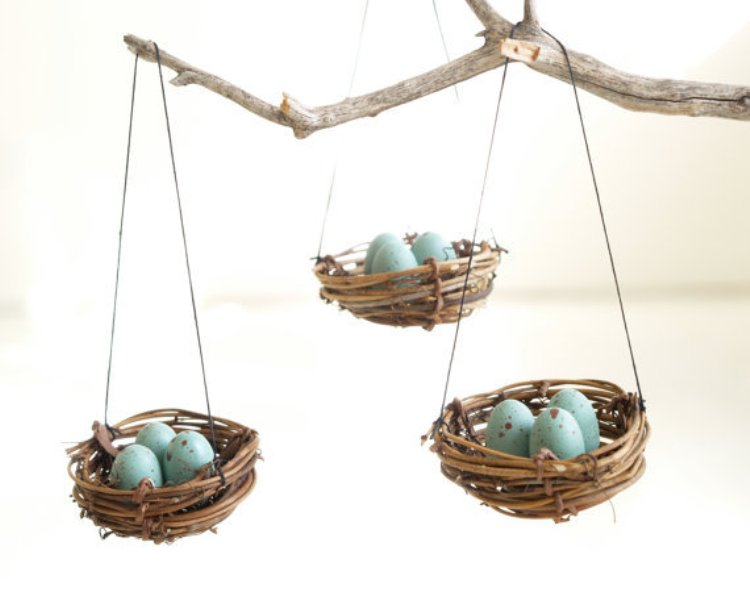 interior-speactacular-easter-home-decor-idea-with-brown-hanging-nests-with-blue-eggs-and-brown-tree-branch-wonderful-easter-home-decor-ideas