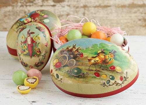 outdoor-easter-decorations-vintage-eggs